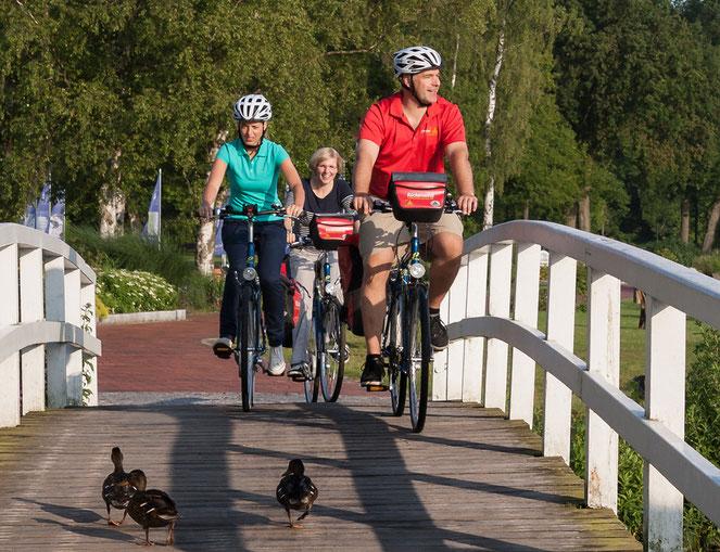 Kreuzfahrt durch Ostfriesland – Mit Gelegenheit zur Radtour auf der Insel Borkum und Besuch der Meyer Werft