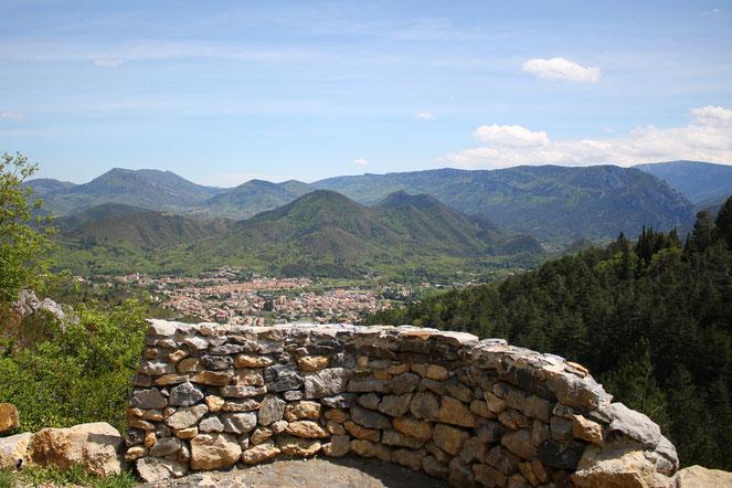 Sentier des Oliviers - Roc de Capio - Col du Portel - Quillan