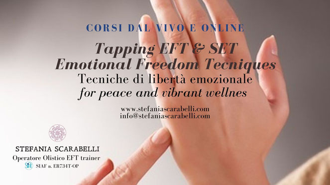 Tapping eft corsi online