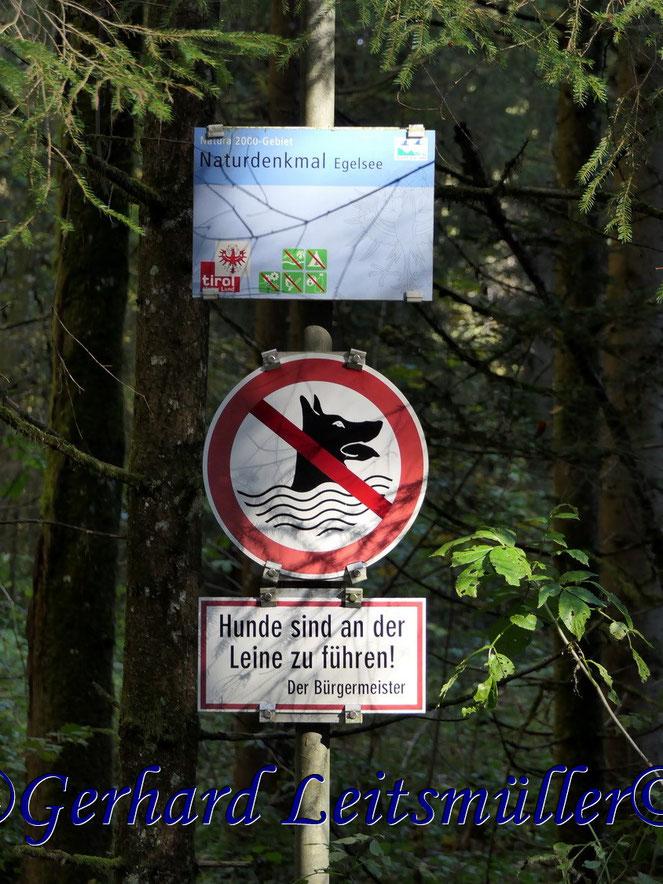Naturdenkmal Egelsee