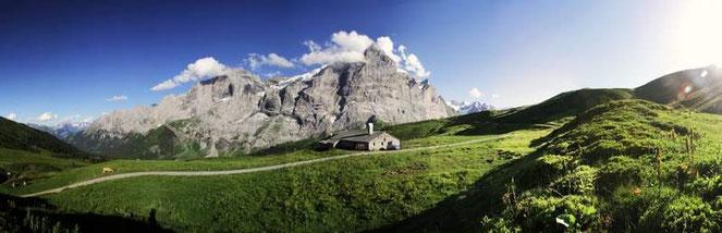 Alphütte im Läger