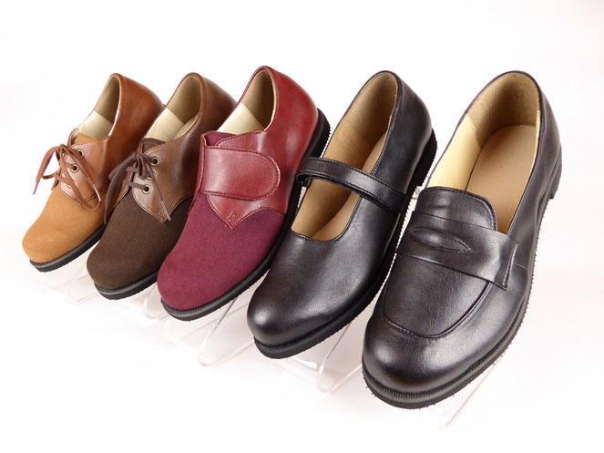 外反母趾 靴、リウマチ 靴のオーダーメイドインソール、靴専門店
