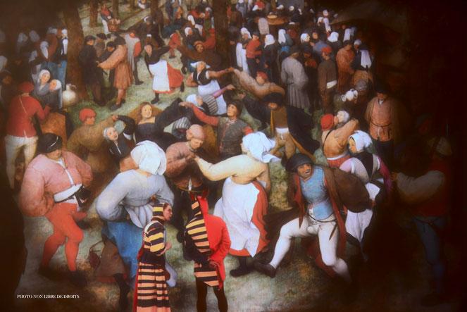 La kermesse en Flandre, Musée départemental de Flandre à Cassel, photo non libre de droits