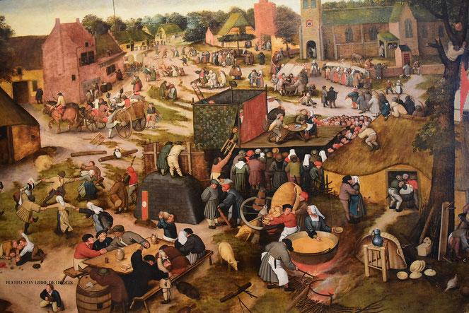 Fête flamande, Musée Départemental de Flandre, Cassel