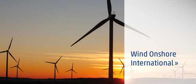 Wind Onshore International - iTerra energy