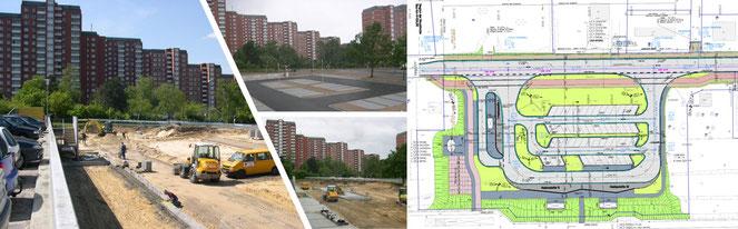 Parkplätze & Busbahnhöfe