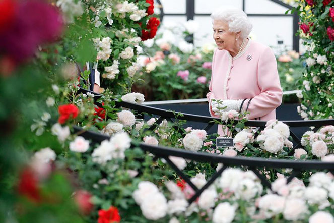 Königin ElisabethChelsea Flower Show London