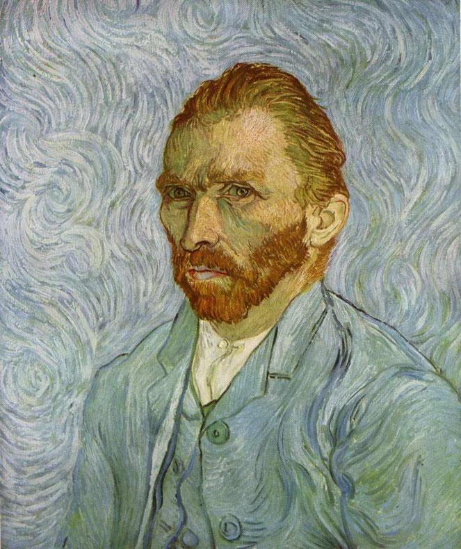 """V. Van Gogh, """"Autoritratto"""""""