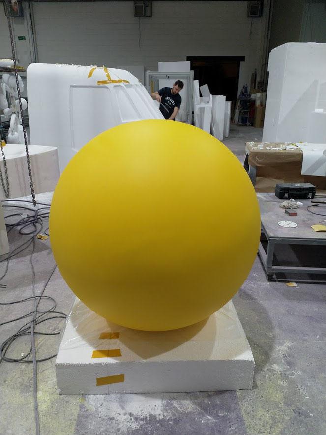 Esfera de 116 cm de diámetro 116 cm - acabado pintura Pantone mate
