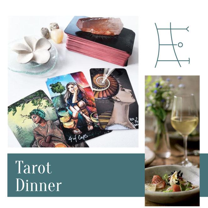 Tarot-Dinner in Graz & Wien: Ohne Hokuspokus, dafür köstlich inspirierend.