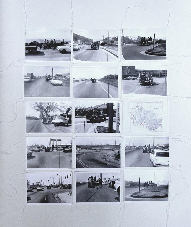 Gianni Pettena: Red line, 1972