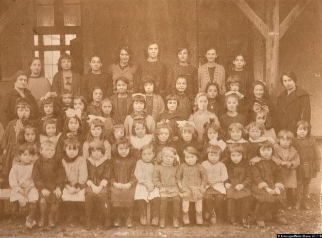 Ecole plaisance du gers olléris rue sainte-quitterie élémentaire primaire 1922 années 20 autrefois