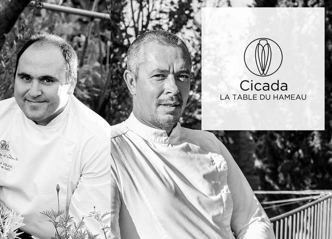 One Kitchen, Two Chefs... at Cicada with Stephan Paroche and Julien Allano