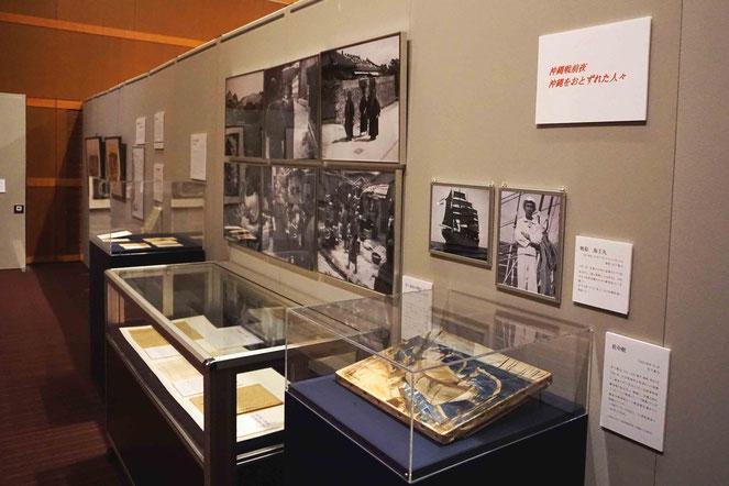 平和ミュージアムおよび立命館史資料センター所蔵の農村の困窮を描いた作品などが展示されている
