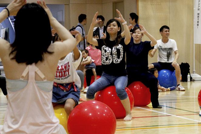 2人の子どもと参加した山田千鶴さんは「健康という点でSDGsの取り組みを身近に感じた」と話す