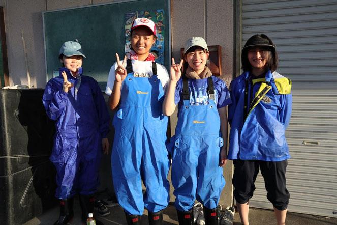 琵琶湖での漁業体験の様子(同団体提供)