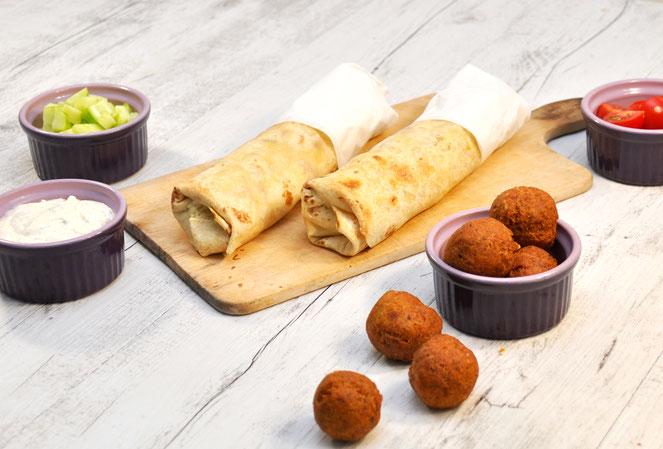 Rollos Essen falafel dürum rollo wie vom eck essen kosmetik putzmittel