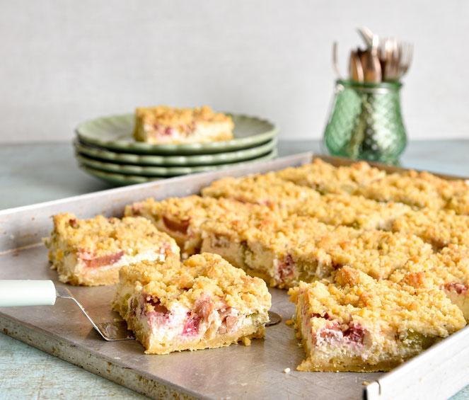 Apfel-Quark-Streuselkuchen. Perfekter Sonntagskuchen. Thermomix. Vegan möglich.