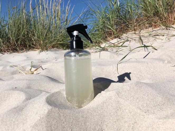 DIY Salzspray für Beach Waves Look, selbst gemachtes Styling Spray für Strand Look im Sommer