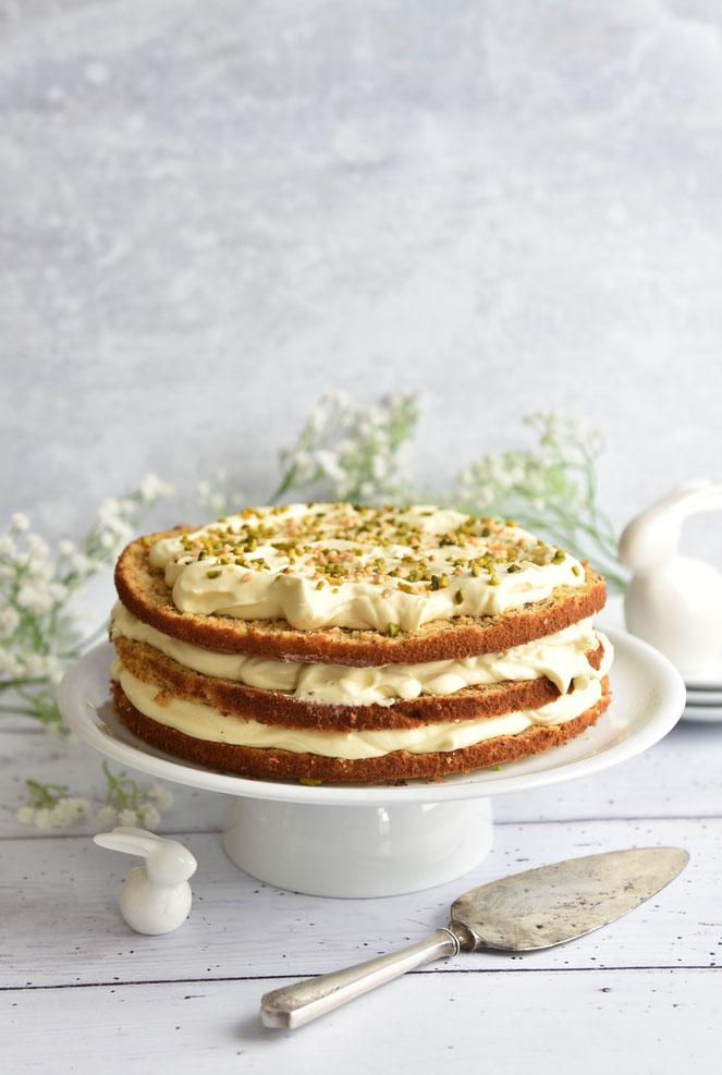 Rübli Torte als Naked Cake