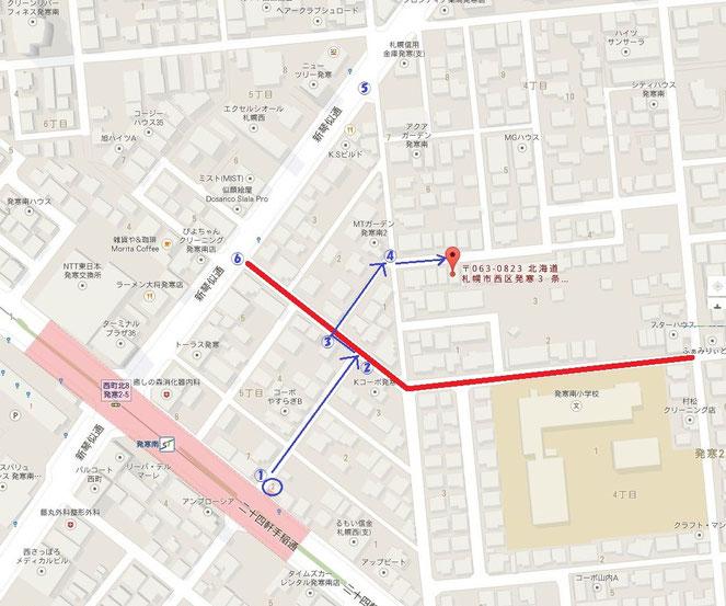 札幌市西区 発寒南小学校 スクールゾーン 交通手段は地下鉄・JRバスがおすすめです。