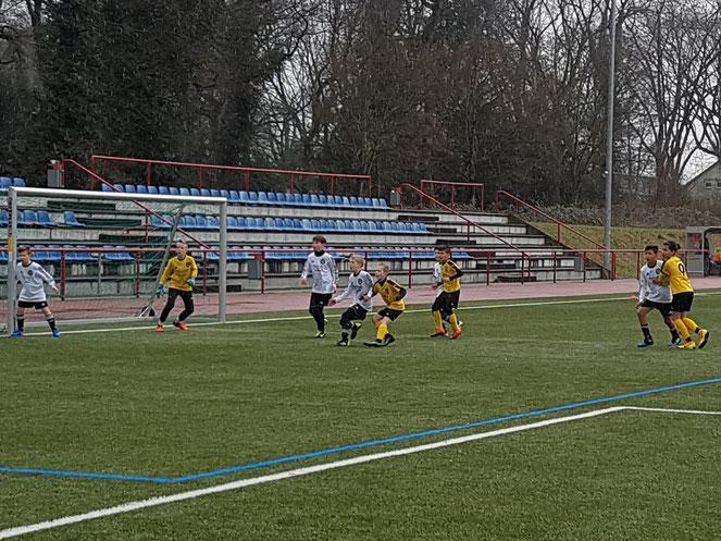 Spiel gegen DSC Wanne-Eickel