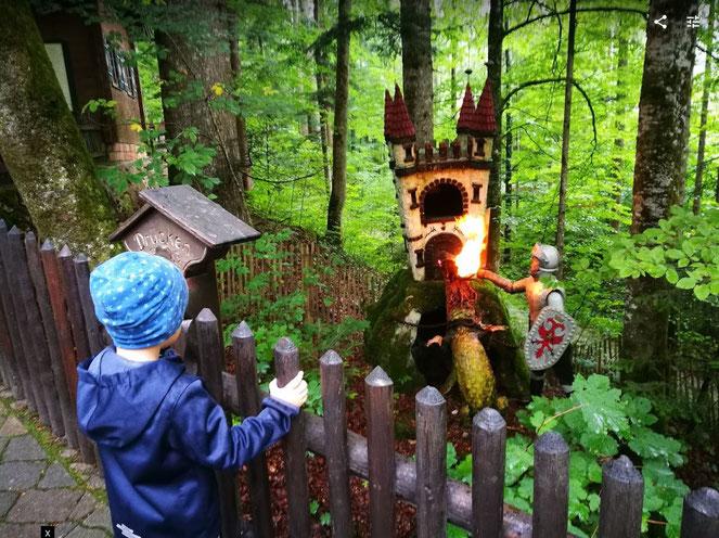 Märchenpark Ruhpolding Drache