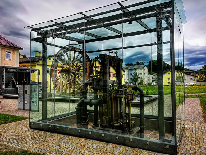 Reichenbach Pumpe Salinenpark Traunstein