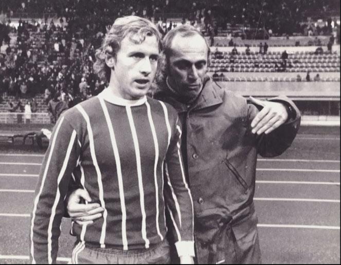 Dürnberger mit Udo Lattek