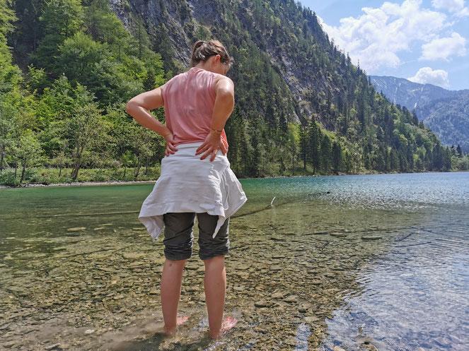 Abschluss der Wanderung: Der Förchensee