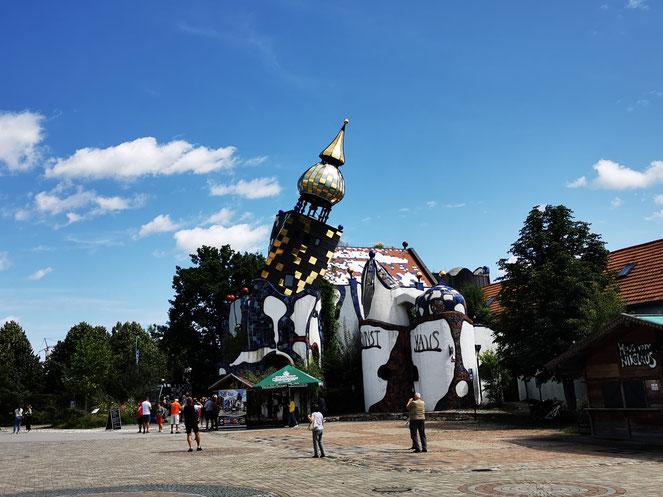 Das Hundertwasser-Kunsthaus in Abensberg