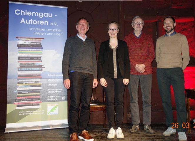 Lesen nach Los mit den Chiemgau Autoren