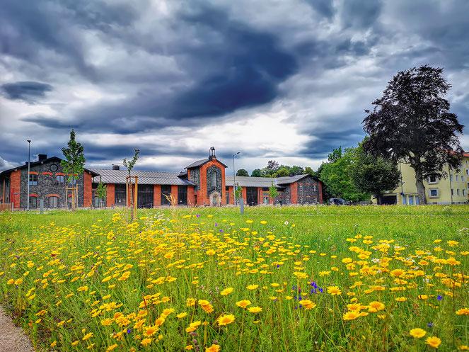 Rupertistadel Salinenpark Traunstein