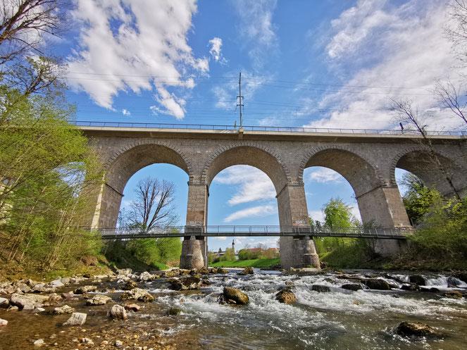 Der Traunsteiner Viadukt
