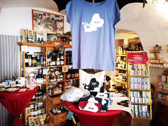 Regionale, nachhaltige Produkte im Laden von Bettina Zeug