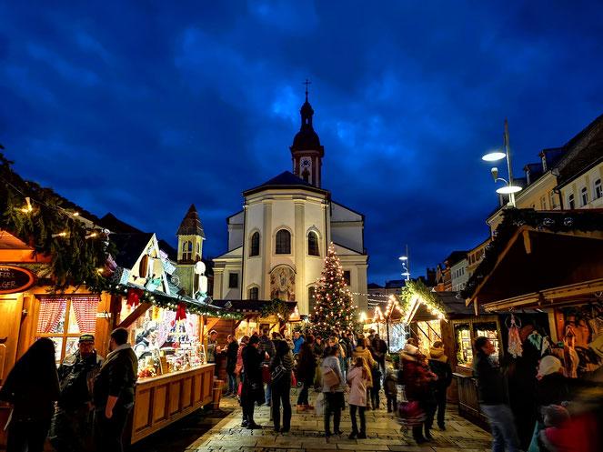 Christkindlmarkt Traunstein Chiemgau