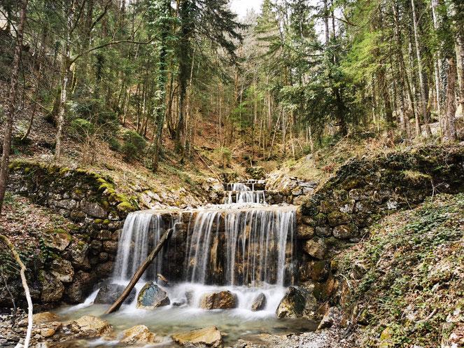 Wasserfall Staffn Alm