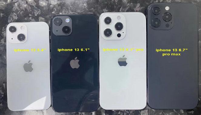Lineup iPhone 12 Erwartet