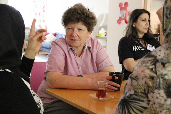 Claudia Held von der Berliner Stadtmission