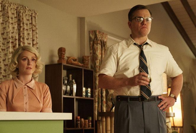 Julianne Moore et Matt Damon, un couple dans une histoire à rebondissements (©Hilary Bronwyn Gayle/Metropolitan FilmExport).