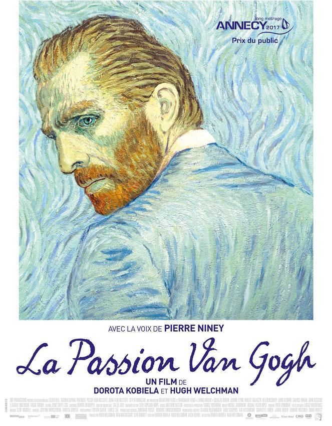 """Le film est présenté comme """"le premier long métrage de peinture animée au monde"""" (©La Belle Company)."""
