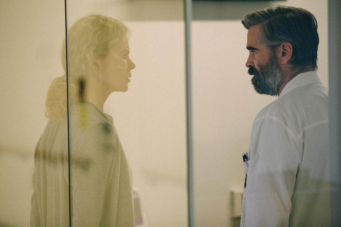 Nicole Kidman et Colin Farrell, un couple impliqué dans une étrange histoire (©Haut et court).