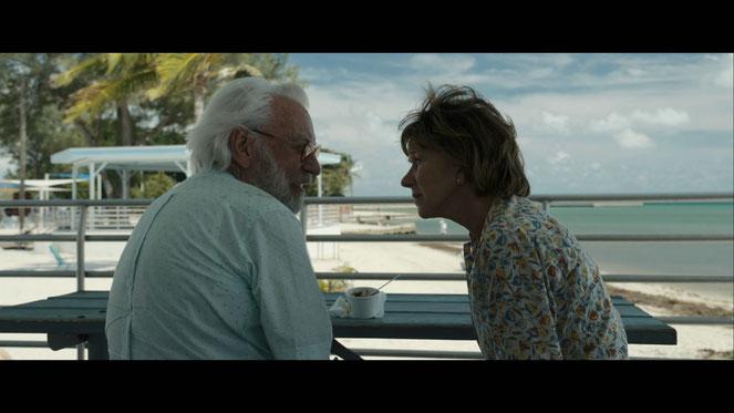 Donald Sutherland et Helen Mirren, un couple âgé qui s'offre une dernière fugue (©Bac Films).