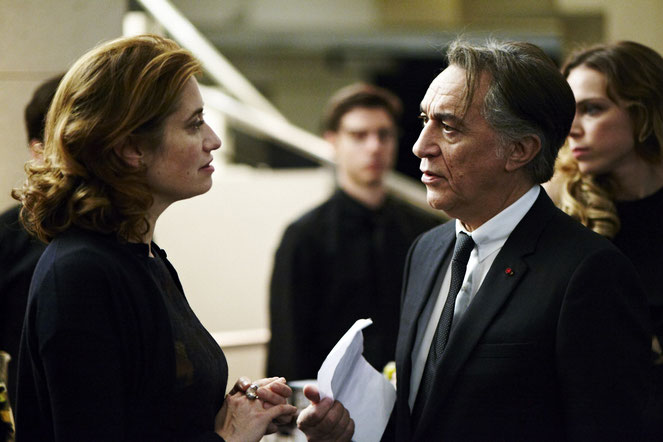 Entre Emmanuelle Devos et Richard Berry, c'est la guerre ouverte (©Pyramide Films).