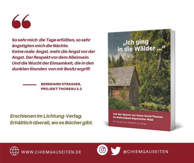 Projekt Thoreau Hütte Walden