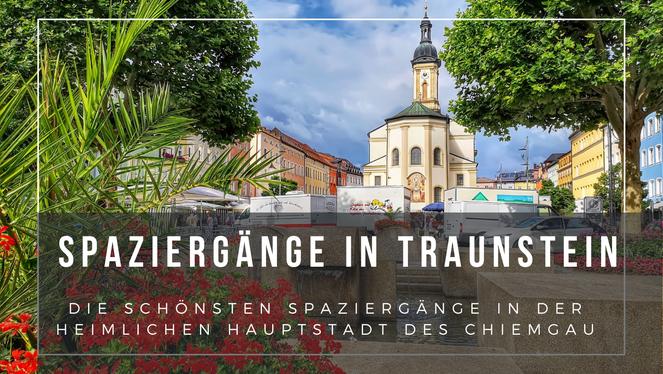 Spaziergang Traunstein