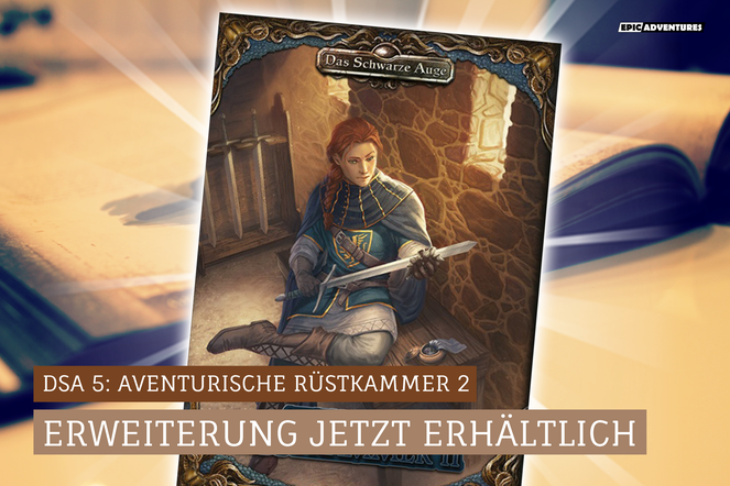 DSA 5: Aventurische Rüstkammer 2 Release