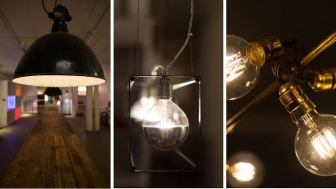 Sinnlicht - Licht mit alten Gegenständen neu interpretiert