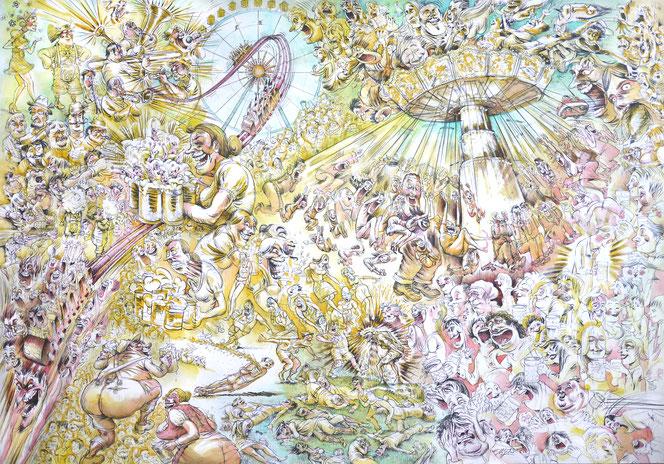 Auftragsarbeit von Privat, 20017:  Wiesn (Oktoberfest München)