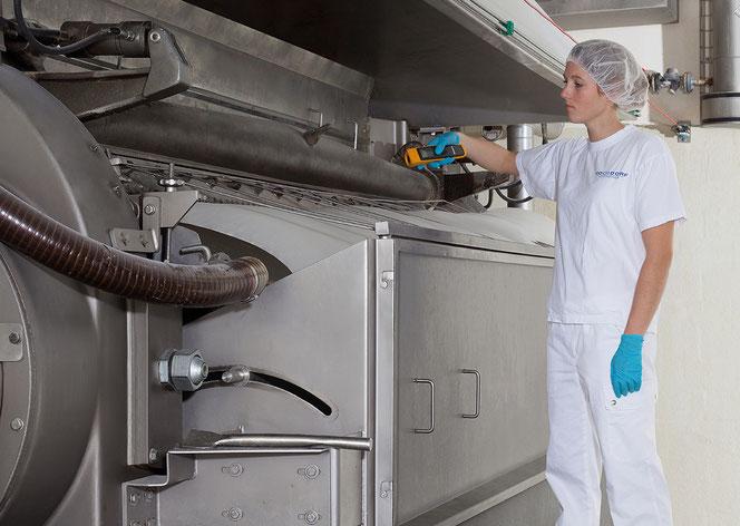HOCHDORF: Produktion von Walzenmilchpulver für Schokolade.
